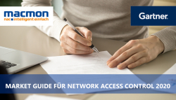 macmon secure im Gartner Market Guide for Network Access Control