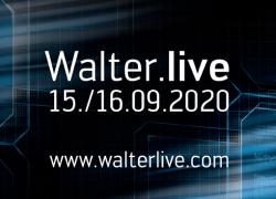 Digitales Kunden-Event: Walter.live erleben