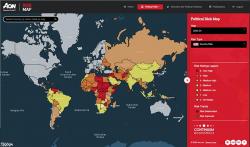 Aon Risk Maps 2020:  Keine sicheren Blue-Chip-Länder mehr