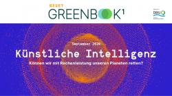 Neue RESET-Publikation: Künstliche Intelligenz im Umwelt- und Klimaschutz