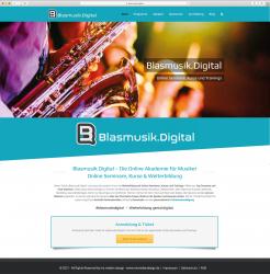 Digitalisierung der Blasmusik