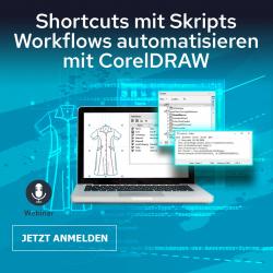 Grafik automatisieren – Einsteiger-Training mit CorelDRAW