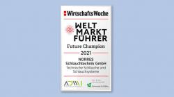 """Listung im """"Weltmarktführer-Index"""" 2021 der WirtschaftsWoche"""