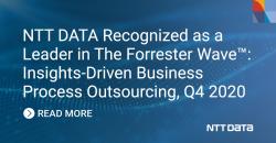 Forrester zeichnet NTT DATA als Leader bei Insights-Driven Business Process…