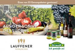 """""""Aus der Sonne des Südens"""" mit Feinkost Dittmann und Lauffener…"""