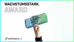 wachstumsstark. Award: Neuer Award für junge Gründer