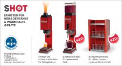 Durchlauferhitzer für Heissgetränke und Glühwein